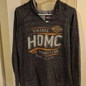 Harley Davidson thin hoodie